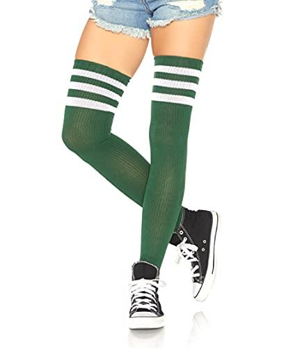 LEG AVENUE Damen Athlete Socken, Hunter, One Size