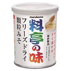 マルコメ 料亭の味 フリーズドライ 顆粒みそ 200g缶×6個入×(2ケース)