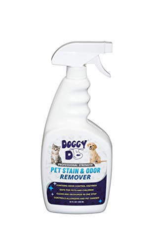 Doggy Do Pet Stain and Odor Eliminator Spray for Cat and Dog Urine | Powerful Enzyme Carpet Cleaner Solution Pee Remover Pet Stain Remover