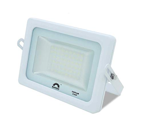 Foco LED Exterior T-SPACE Blanco · Proyector LED Extraplano 35W ...
