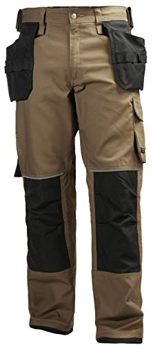 Helly Hansen Workwear Men's Chelsea Construction Pant, Timber, 36Wx34L