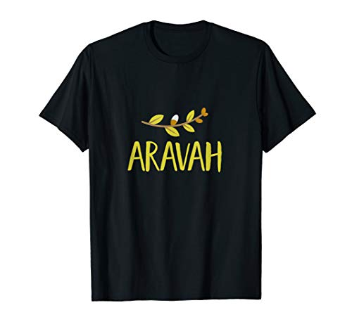 Arava 4 Arten Weidenbaum Blätter Sukkot Jüdischer Feiertag T-Shirt