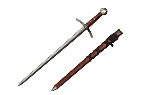 Wuu Jau Co H-26035WD Crusader Knights of Templar Short Medieval Cosplay Sword Dagger, 23'