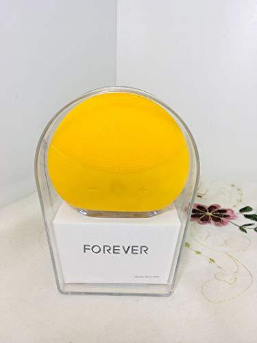 Esponja Elétrica Para Limpeza e Massagem Facial Forever Amarela