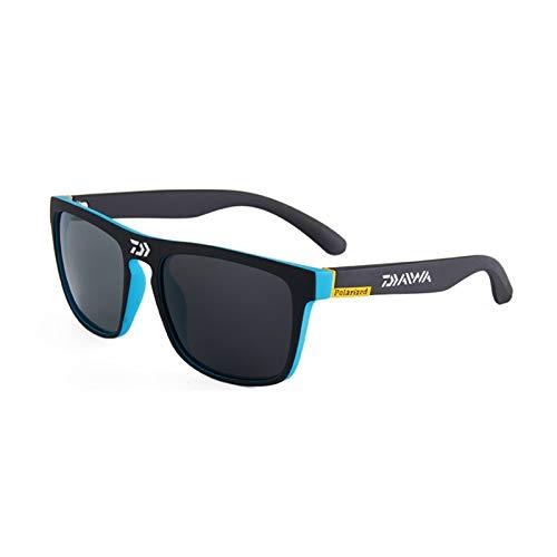 DIOXQEN Diseño clásico Gafas de Sol polarizadas Hombre Conducción Camping Senderismo Pesca Classic Sun Gafas Deportes al Aire Libre UV400 Gafas para Uso en Exteriores (Color : DGB3)