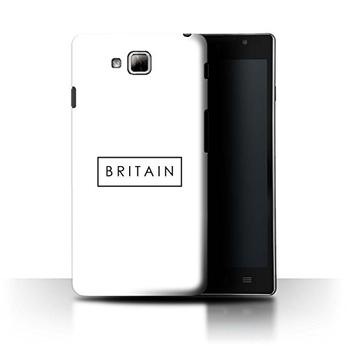 Stuff4® Phone Case/Cover/Skin/LGFL-CC/Great Britain/British Pride Collection LG Optimus L9 II/D605 Logo/stempel
