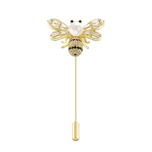 HSXC Brooch Pins & Pendants Pin Pin Small Bee Brooch Female Accessories Corsage Sweater Fashion Atmospheric Pin Fixed Clothes Decoration Accessories Brooch Pin Gift for Women