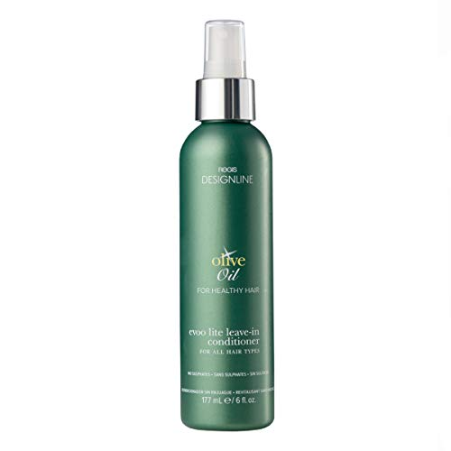 Olive Oil EVOO Lite Leave-in - Regis DESIGNLINE - Leave-In Conditioner Treatment Restores Dry and Damaged Hair without Build-Up and Protects Against Damage, Dryness, and Color Fading (6 oz)