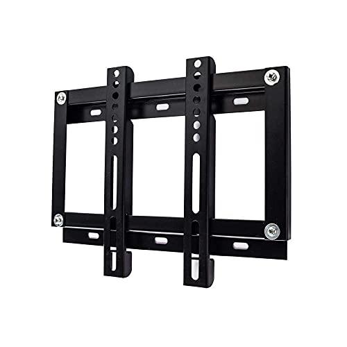 Equipo para el hogar Soporte para TV Marco de pared de acero inoxidable resistente para la mayoría de televisores de 14 43 pulgadas Soporte de pared para TV pequeño de hasta 25 kg Altura de inclina