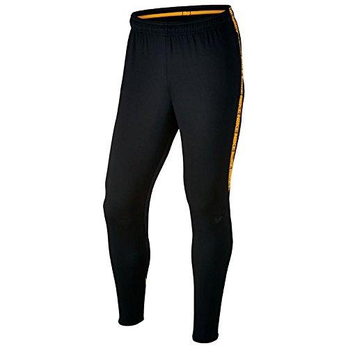 Nike Herren Dri-fit Squad Hose, Black/Black/Laser Orange/B, XL