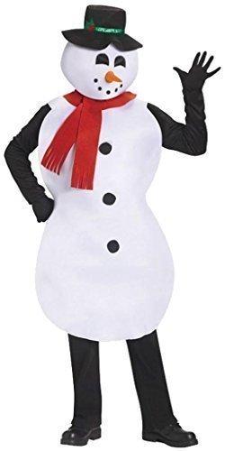 Femmes ou Hommes Adulte Jolly Bonhomme de neige Costume Déguisement Noël