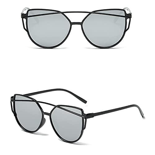 Gafas De Moda Gafas De Sol Gafas De Sol De Ojo De Gato para Mujer, Espejo De Revestimiento De Moda, Gafas De Sol De Ojo De Gato Sexy para Mujer,