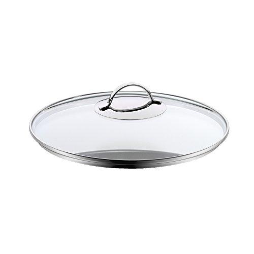 WMF Tapadera de Cristal Olla, Apta para lavavajillas y Horno, de 28cm de diámetro