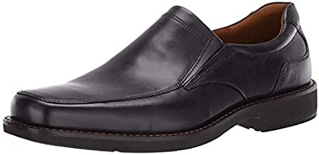 ECCO Men's Seattle Slip On Loafer, Black, 10-10.5