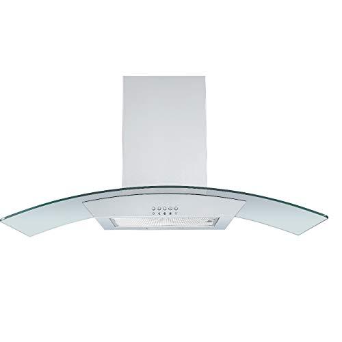 respekta Glasschirmhaube Edelstahl 90 cm Typ/Modell: CH0190IXB
