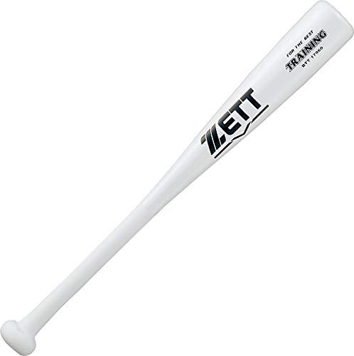 ZETT(ゼット) 片手スイング短尺バット 60cm 500g平均 ホワイト