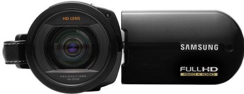 Samsung HMX-20C HD-Camcorder (1080p-Aufnahme, 10 x/10x optischer/digitaler Zoom, 6,85 cm, 8 GB eingebauter Flash Speicher) schwarz