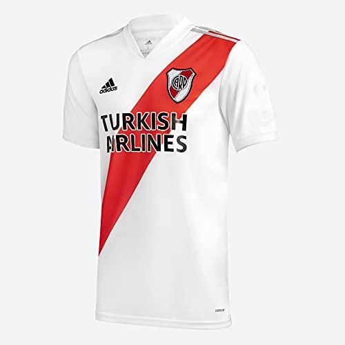 adidas River Plate (Argentina) Temporada 2020/21 Camiseta Primera equipación, Unisex, Blanco, M