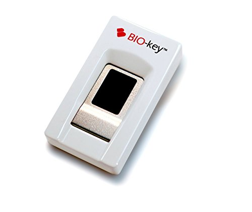 BIO-key EcoID Fingerprint Reader - Tested & Qualified by Microsoft for Windows Hello - Eliminate Passwords on Windows 7/8.1/10 - Includes OmniPass...