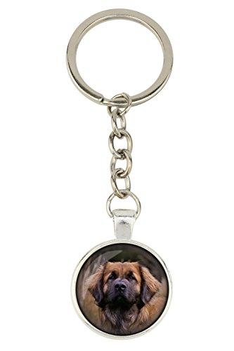 Leonberger, colgante de perro para los amantes del perro, photo-jewelry, hecho a mano
