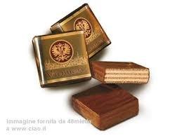 Babbi-wafer ripieni di crema alla vaniglia ricoperti di cioccolato fondente 200g 10pz