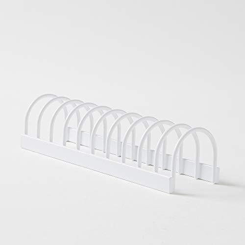 Compactor Organizador Tapas, Metal, Blanco, Talla Unica