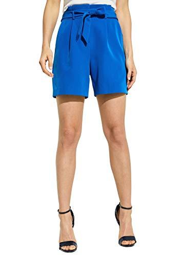 comma Damen 81.905.74.5671 Shorts, Blau (Pool 5534), W(Herstellergröße: 42)
