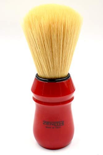 Rasierpinsel Modell New 80R Griff rot 100 % synthetisch