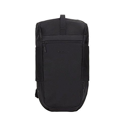 Incase INCO100209-BLK Rucksack, Nylon, Schwarz, Uniform, Unisex, 38,1 cm (15 Zoll), MacBook iPad)