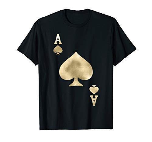 Ace of Spades - Playing Card Halloween Costume T-Shirt