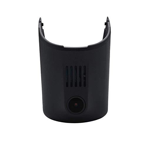 ZWNAV Dashcam para Audi Full HD 1080P Cámara para Coche 155° Grados de Amplio Ángulo con Detección De Movimiento, Visión Nocturna, G-Sensor, Loop de Grabación,WDR,Monitor de Aparcamiento(Negro,ST100)
