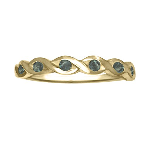 Alexandrite Ring | Designed by Ellen Natural Color Changing Alexandrite Ring in 14k Gold