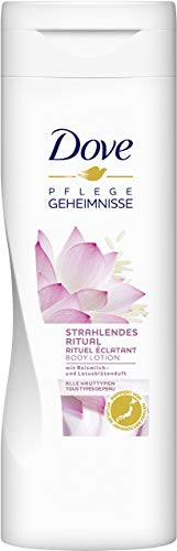 Dove Strahlendes Ritual Body Lotion, 4er Pack (4 x 400 ml)