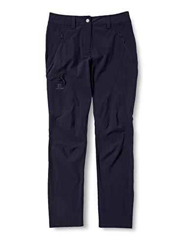 Salomon Damen Wayfarer Tapered Pant Hose, Mitternachtsblau, 44/L