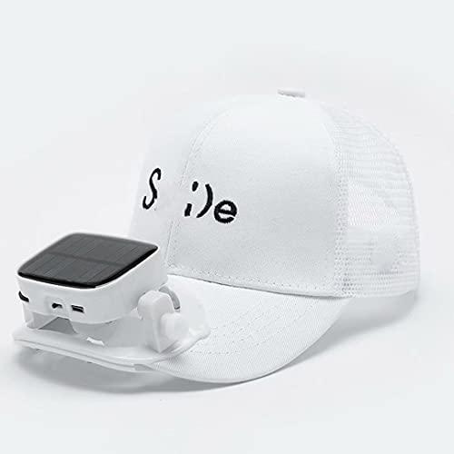 NZBⓇ Cappellini da Sole Ventilatore - Cappellino da Baseball Cappellini da Sole Ventilatore USB...