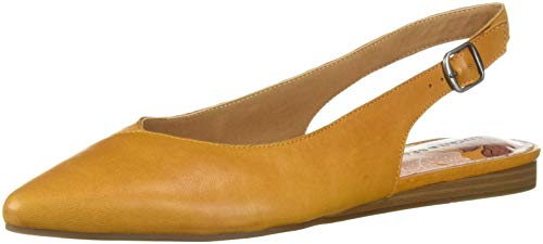 Lucky Brand Women's Beratan Ballet Flat, Inca Gold, 8 Medium US