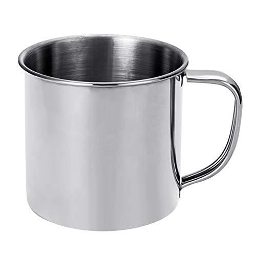 Kalaokei Vaso portátil de acero inoxidable de 300 ml, taza de café, taza de té y agua potable para estudiantes