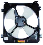 condenser cooling fan civic - 4