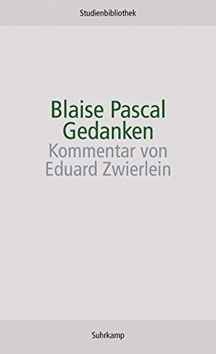Gedanken (Suhrkamp Studienbibliothek)