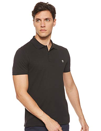 Timberland Millers River Polo Shirt Medium Black