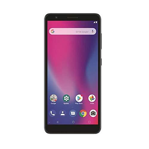 "ZTE Blade A3 2020 (32GB) 5.45"" HD+ Display, Dual SIM GSM Unlocked US 4G LTE (T-Mobile, AT&T, Straight Talk, Cricket) International Model (Grey, W/ 64GB SD Bundle)"