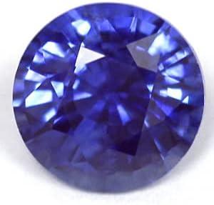 GemsNY 1.06 Carat Natural Minneapolis Mall Sapphire Round Blue Indefinitely
