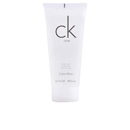 CALVIN KLEIN ck one Hair and Body Wash, 2in1 Duschgel für Haare und Körper, aromatisch-zitrischer Unisex-Duft, 200 ml