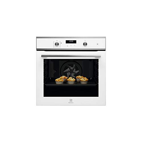 Electrolux - eod6p60w - Horno integrable, 72 L, 60 cm, incluye pirolisis, color blanco