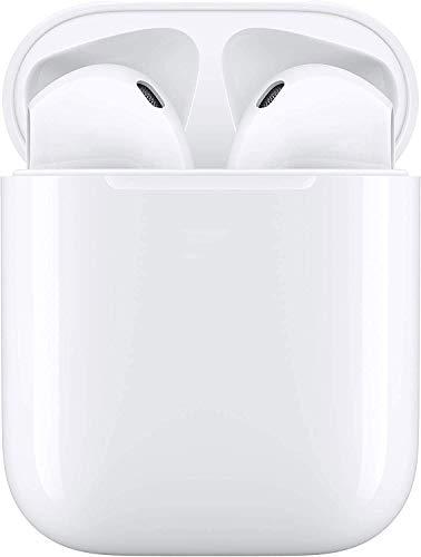Écouteurs sans Fil Bluetooth 5.0, IPX5 écouteurs étanches Sportifs, Binaural Couplage Automatique, 3D Stéréo HiFi, Microphone intégré,...