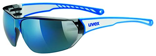 Uvex Unisex Erwachsene Sportsonnenbrille Sportstyle 204, White Blue, One Size