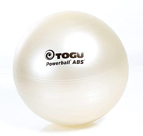 TOGU Powerball ABS - Pelota de Gimnasia (55 cm), Color Perla