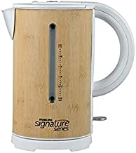 Nikai Electric Kettle 1.7 Ltr - SS171KTB, Brown, Stainless Steel