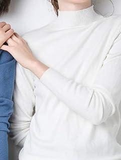 SDJYH suéteres y pulóveres para Mujer Otoño Invierno Jersey de Manga Larga Jersey de Punto Informal 48