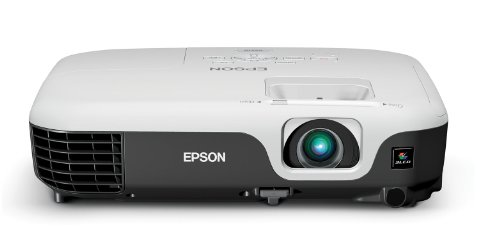 Epson VS210 Projector (Portable SVGA 3LCD, 2600 lumens color brightness, 2600 lumens white brightness, rapid setup)